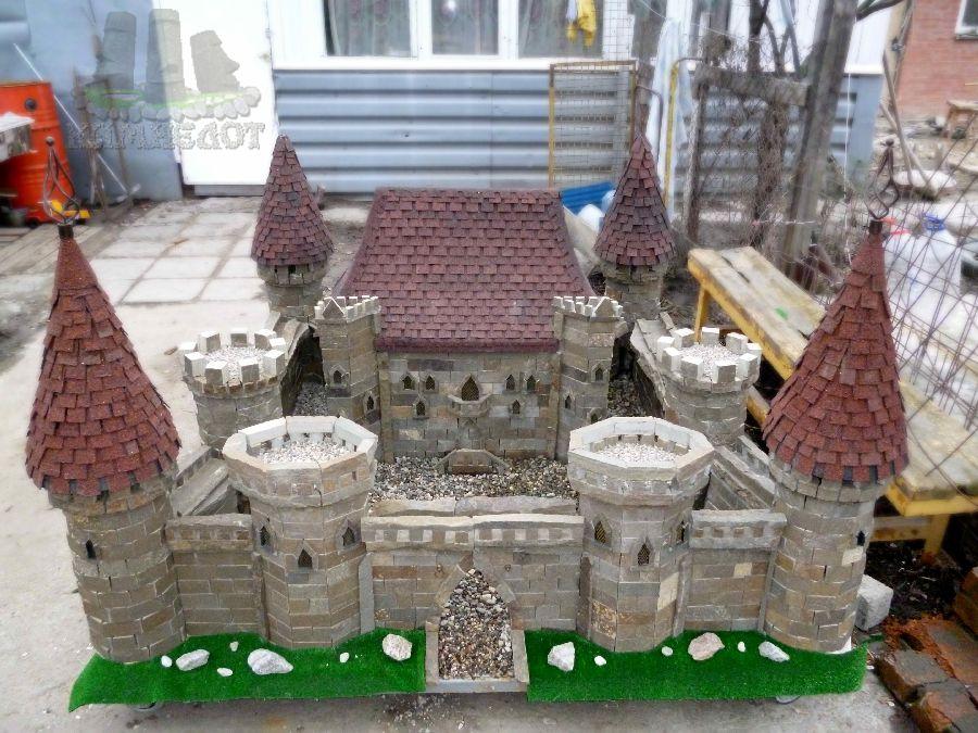 Крепость своими руками из бетона 52