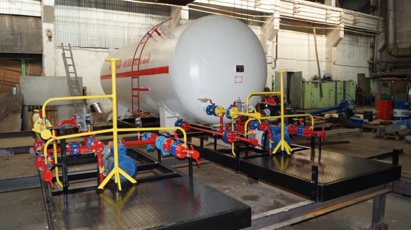 Установка газовая моноблочная 20 м3 по 1240000 рублей