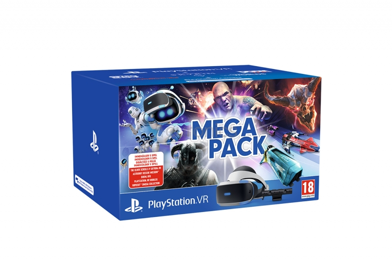 PS4VR Mega PackИгры